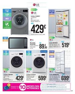 Ofertas de LG  en el folleto de Carrefour en Sanlúcar de Barrameda