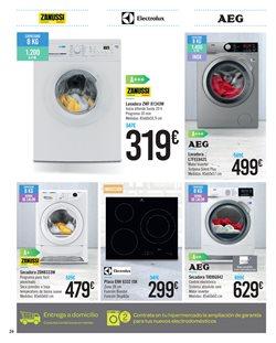 Ofertas de Electrolux  en el folleto de Carrefour en Madrid
