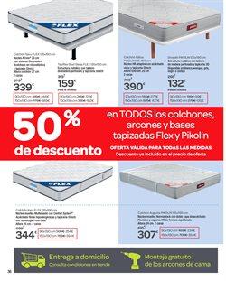 Ofertas de Colchones  en el folleto de Carrefour en Sanlúcar de Barrameda