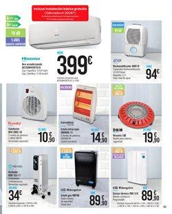 Ofertas de Estufas  en el folleto de Carrefour en Bilbao