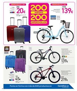 Ofertas de Bicicletas  en el folleto de Carrefour en Vigo