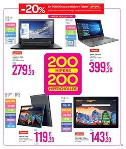 Ofertas de Ordenador portátil  en el folleto de Carrefour en Valencia