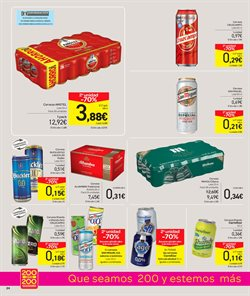 Ofertas de Cruzcampo  en el folleto de Carrefour en Oviedo