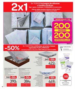 Ofertas de Ropa de cama  en el folleto de Carrefour en Bilbao