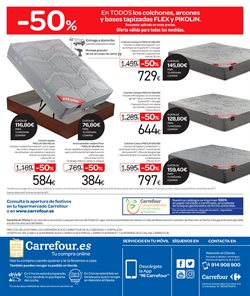 Ofertas de Muebles  en el folleto de Carrefour en Madrid