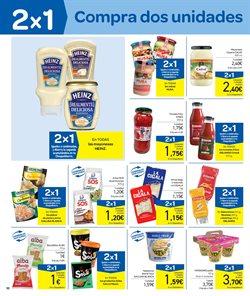 Ofertas de Salsas  en el folleto de Carrefour en Zaragoza