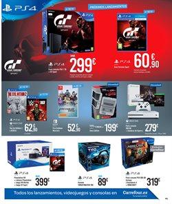 Ofertas de PS4  en el folleto de Carrefour en Madrid