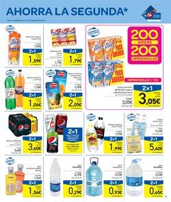 Ofertas de Agua  en el folleto de Carrefour en Santiago de Compostela