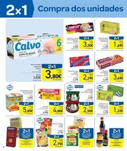 Ofertas de Sopas, caldos y purés  en el folleto de Carrefour en Zamora
