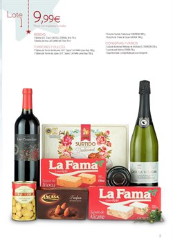 Ofertas de Cestas de Navidad  en el folleto de Carrefour en Madrid