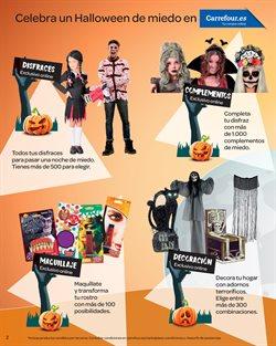 Ofertas de Disfraces  en el folleto de Carrefour en Paterna