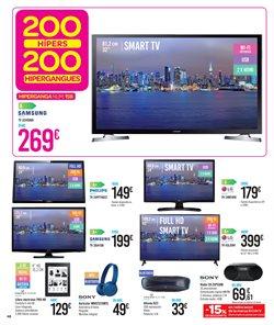 Ofertas de Tv led  en el folleto de Carrefour en Reus