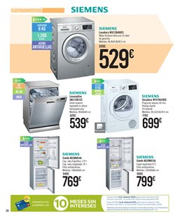 Ofertas de Siemens  en el folleto de Carrefour en Telde
