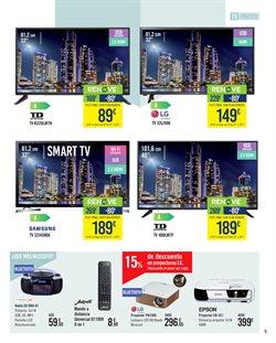 Ofertas de Tv led  en el folleto de Carrefour en Madrid