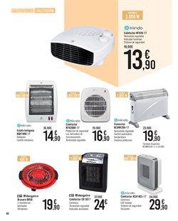 Ofertas de Estufa halógena  en el folleto de Carrefour en Madrid