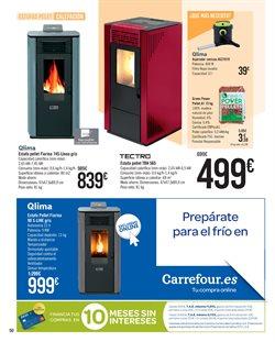 Ofertas de Estufas  en el folleto de Carrefour en Madrid