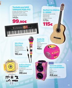Ofertas de Instrumentos musicales  en el folleto de Carrefour en Madrid