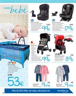 Ofertas de Cunas  en el folleto de Carrefour en Zaragoza