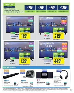 Ofertas de Smart tv led  en el folleto de Carrefour en Madrid