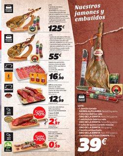 Ofertas de Jamón  en el folleto de Carrefour en Bilbao