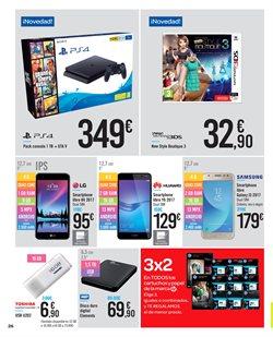 Ofertas de Smartphones Huawei  en el folleto de Carrefour en Madrid