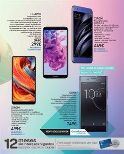 Ofertas de Smartphones Sony  en el folleto de Carrefour en Alcalá de Henares