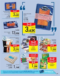 Ofertas de Pasta  en el folleto de Carrefour en Madrid