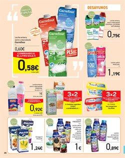 Ofertas de Puleva  en el folleto de Carrefour en Madrid