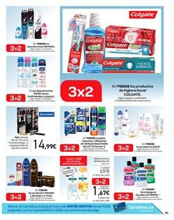 Ofertas de Gillette  en el folleto de Carrefour en Madrid
