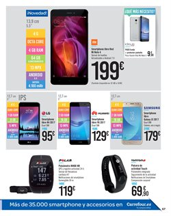 Ofertas de Huawei  en el folleto de Carrefour en Madrid