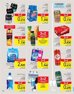 Ofertas de Agua  en el folleto de Carrefour en Barcelona