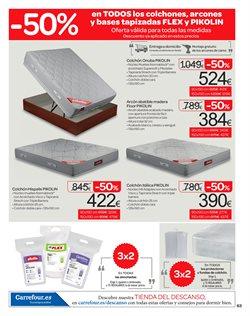 Ofertas de Dormitorios  en el folleto de Carrefour en León