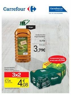 Ofertas de Mahou  en el folleto de Carrefour en León