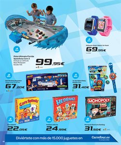 Ofertas de Pistola de juguete  en el folleto de Carrefour en Madrid