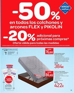 Ofertas de Canapé abatible  en el folleto de Carrefour en Madrid