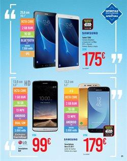 Ofertas de Tablet Samsung  en el folleto de Carrefour en Madrid