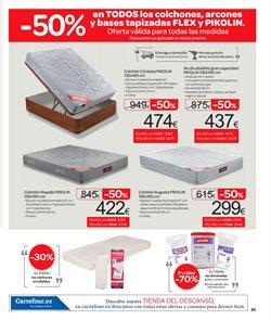 Ofertas de Pikolin  en el folleto de Carrefour en Zaragoza