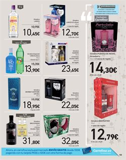 Ofertas de Ginebra  en el folleto de Carrefour en Córdoba