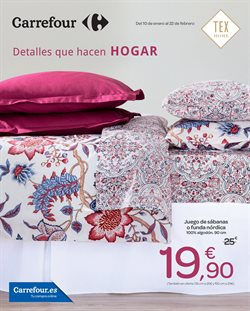 Ofertas de Hogar y muebles  en el folleto de Carrefour en Valladolid