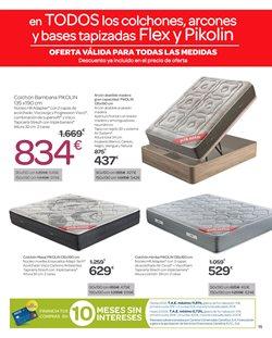 Ofertas de Colchones  en el folleto de Carrefour en Telde