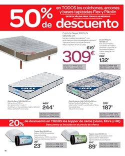 Ofertas de Camas  en el folleto de Carrefour en Ávila