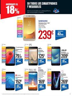 Ofertas de Smartphones Samsung  en el folleto de Carrefour en Vecindario