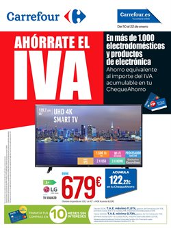 Ofertas de Smart tv  en el folleto de Carrefour en Madrid