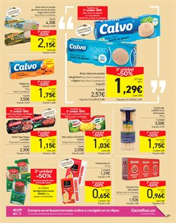 Ofertas de Patés y untables  en el folleto de Carrefour en León