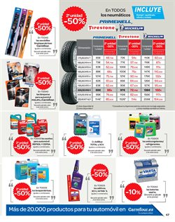 Ofertas de Neumáticos  en el folleto de Carrefour en Valencia
