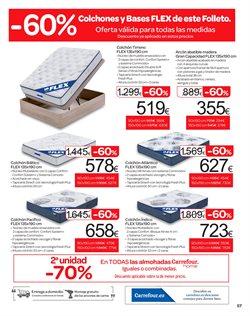 Ofertas de Colchones  en el folleto de Carrefour en Santa Cruz de Tenerife