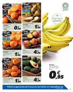 Ofertas de Naranjas  en el folleto de Carrefour en León