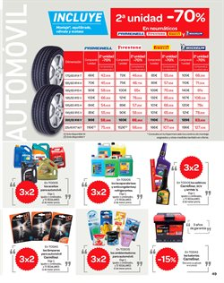 Ofertas de Batería de coche  en el folleto de Carrefour en León