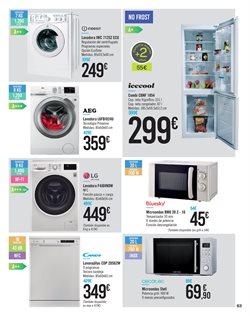 Ofertas de AEG  en el folleto de Carrefour en León