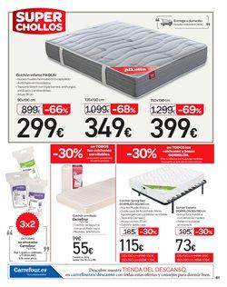 Ofertas de Camas  en el folleto de Carrefour en Paterna